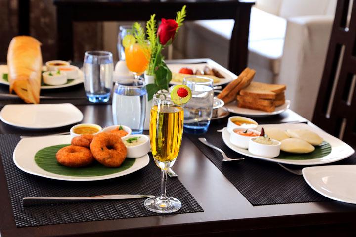 Elphin Jessore Multi Cuisine Restaurant Breakfast