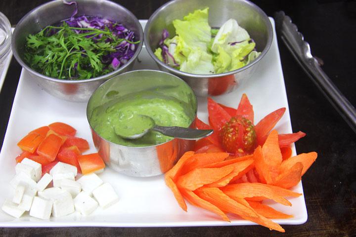 Elphin Jessore Multi Cuisine Restaurant Salad Preparation