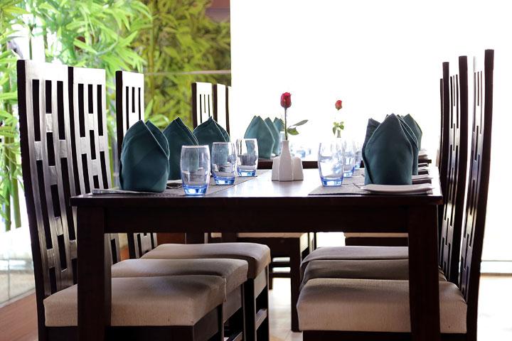 Ethnotel Hotel Dining Area