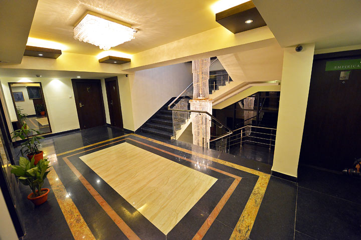 Ethnotel Hotel Corridor and Stairs