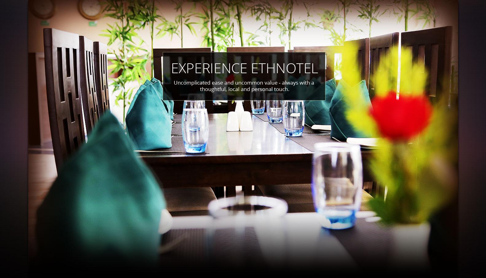Ethnotel Hotel Dining